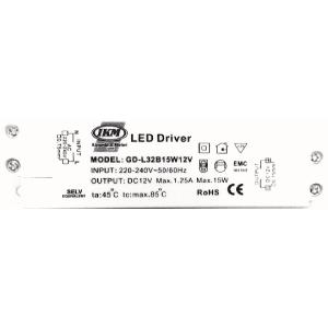 Trafo 15W Verteiler d=8mm (led driver)