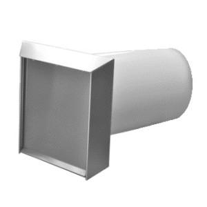 Mauerkasten rund NW 150mm selbsttätige Klappe 40048442