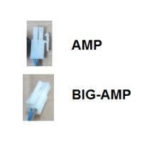 Kabelsatz mit Zentralschalter rund BIG AMP