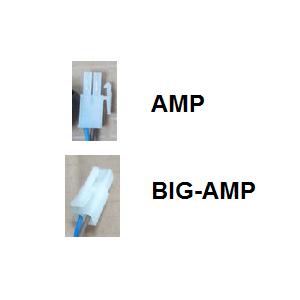 Kabelsatz mit Zentralschalter eckig AMP