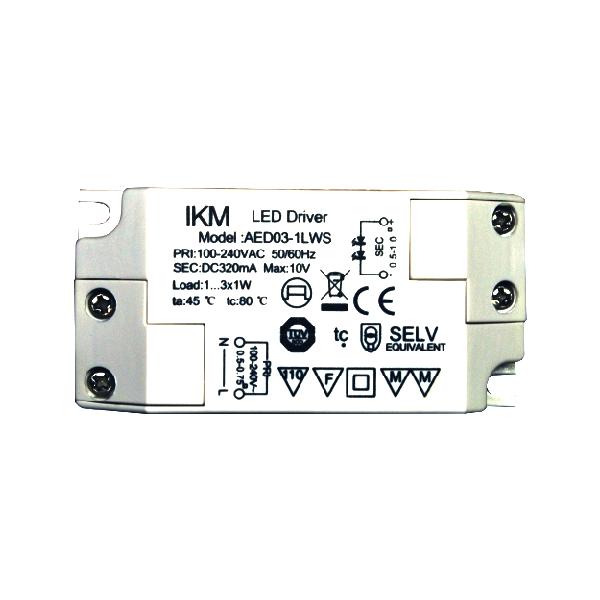 Power-LED-Konverter 3W (power led driver)