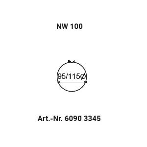 Schlauchschelle NW100 (90-110mm)
