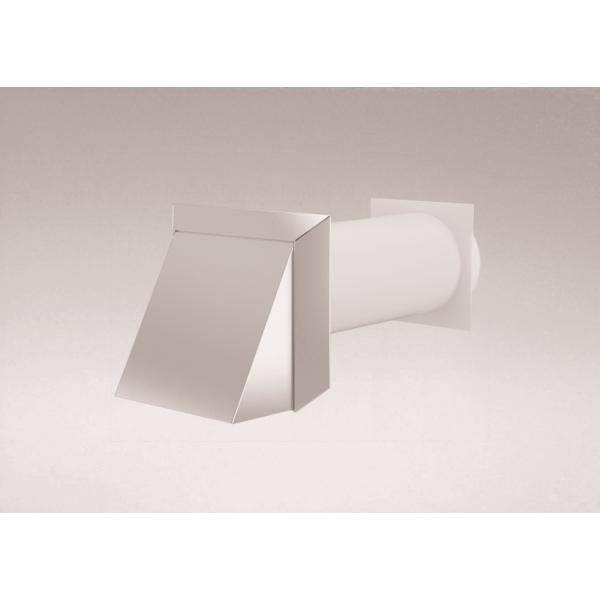 Mauerkasten rund NW 125mm Edelhaube 40046242