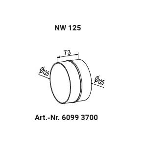 Rohr- / Schlauchverbinder NW125 60993700