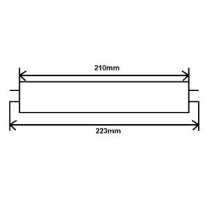 Leuchtstoffröhre T5 6W