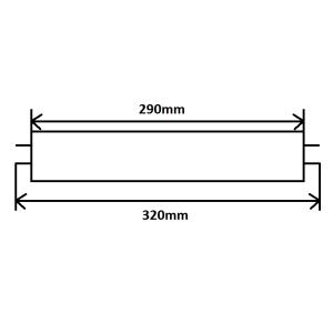 Leuchtstoffröhre T5 8W