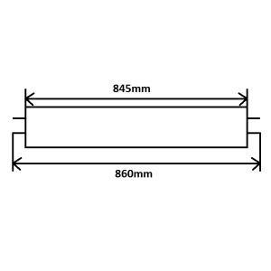 Leuchtstoffröhre T5 21W