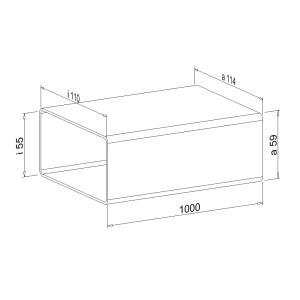 Zwischenstück NW 100 mm 1 Meter