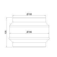 Kondenswassersperre NW 150