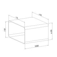 Zwischenstück NW 150mm 1 Meter